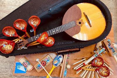 В рамках национального проекта «Культура» в Детской школе искусств Югорска обновился парк музыкальных инструментов - домры, баяны, гитары, саксофоны, флейты, кларнеты, гобои, скрипки, виолончели.
