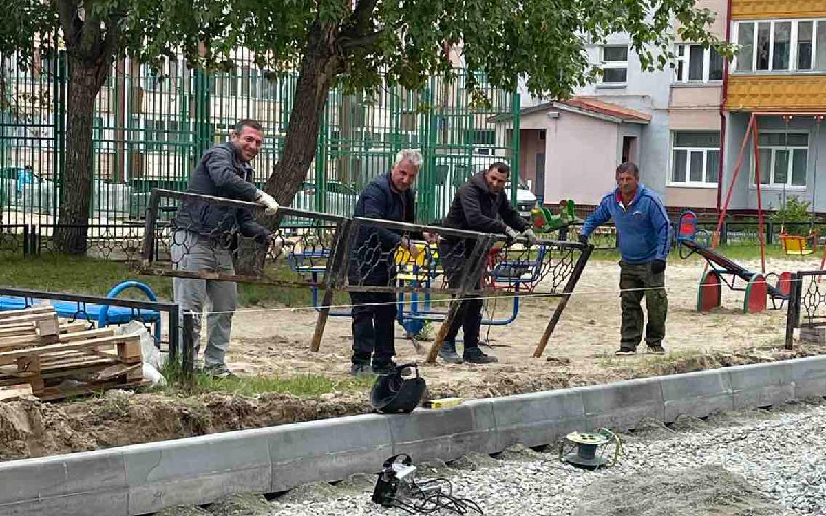 В Югорске общественная комиссия проверила реализацию региональной программы формирования комфортной городской среды