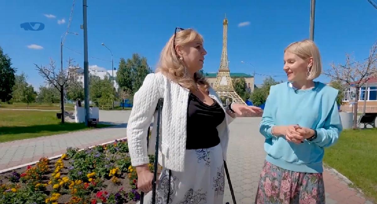 В канун токийской олимпиады прогулялись по городу с Ольгой Сергиенко. Она профессионально занимается адаптивным спортом, многократная чемпионка России, чемпионка мира и Европы, участница четырёх Паралимпиад.