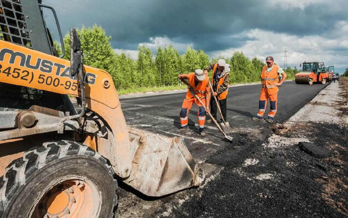 Участок подъездной дороги в нефтеюганском районе будет приведен в нормативное состояние в рамках нацпроекта БКД