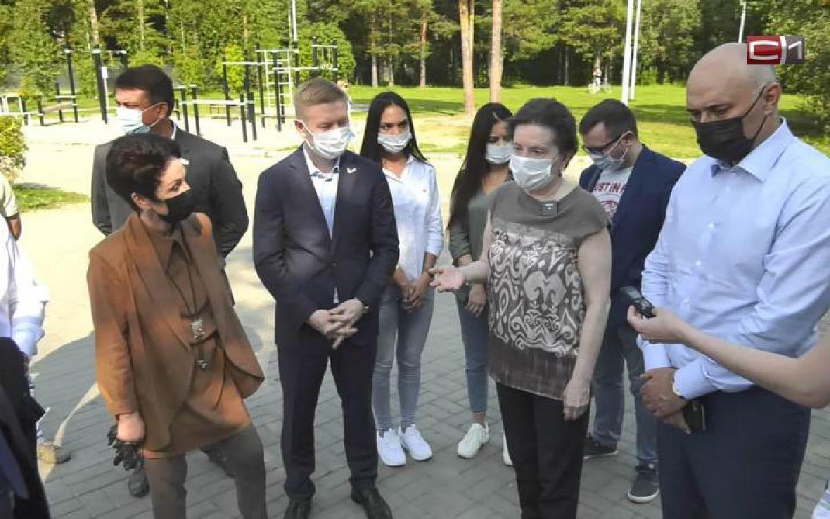 Экопарк «За Саймой» посетила в Сургуте губернатор Югры Наталья Комарова в ходе рабочего визита в город.
