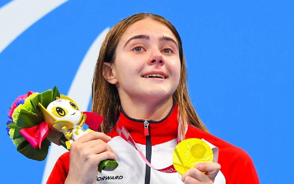 Спортсменка Центра адаптивного спорта Югры, мастер спорта России международного класса, пловчиха Анастасия Гонтарь завоевала золото XVI Паралимпийских летних игр в Токио.