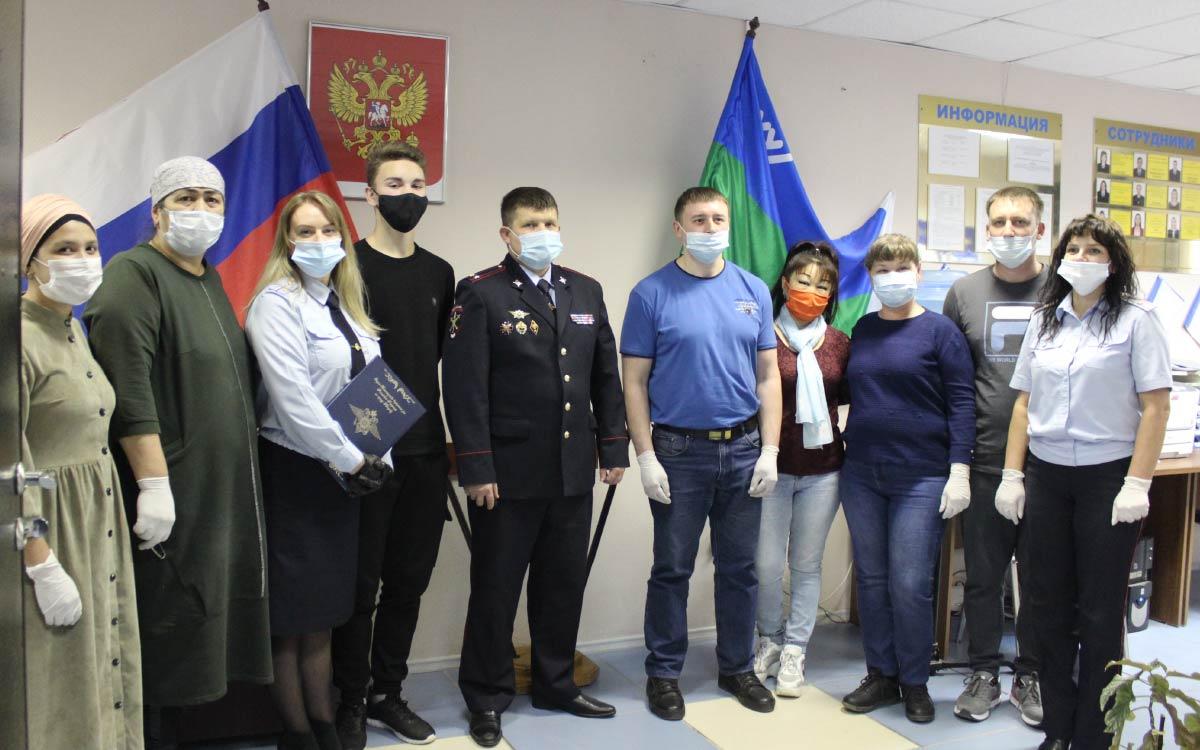 В Югорске прошла очередная церемония принятия присяги иностранными гражданами