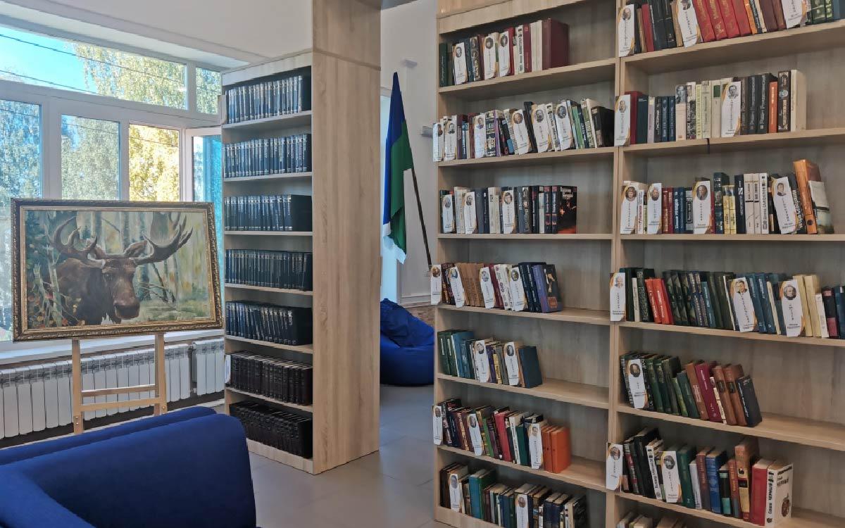 Модельную библиотеку торжественно открыли в Советском районе