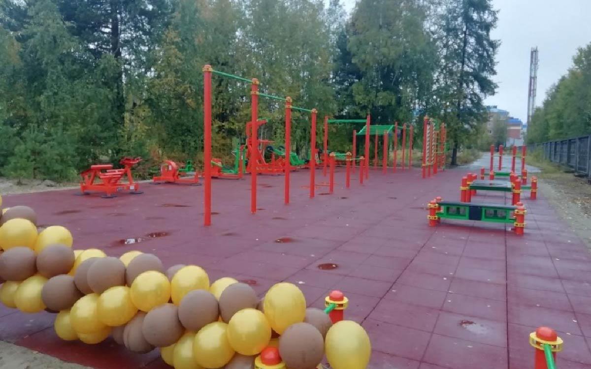 Площадку ГТО открыли сегодня в гимназии г.п. Советский