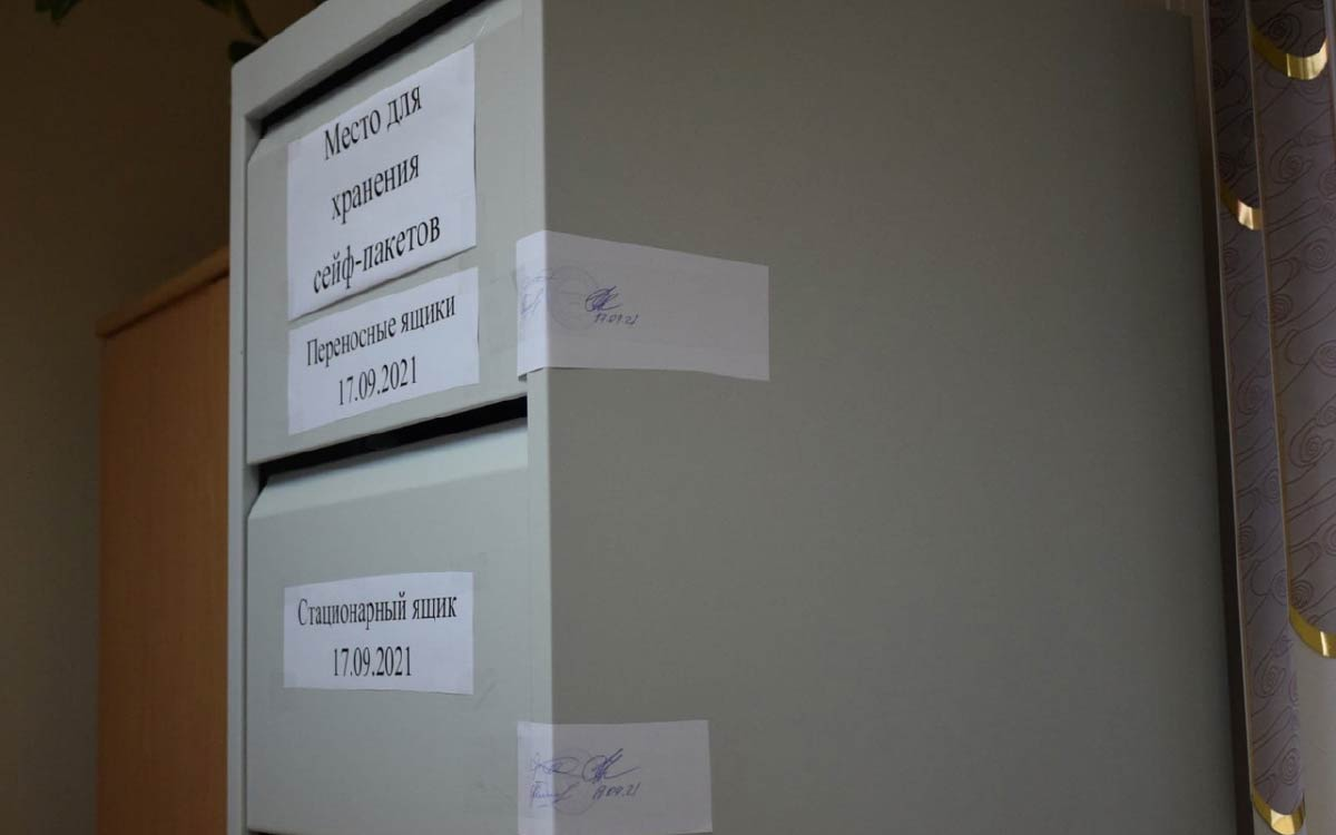 Безопасность и открытость процесса голосования Югорск 4