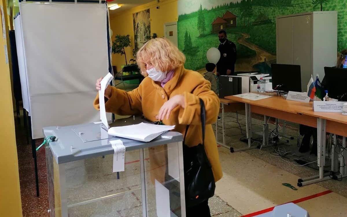 В Югорске по состоянию на 18 сентября на 14.30 проголосовали 9 622 избирателей - 36,56%
