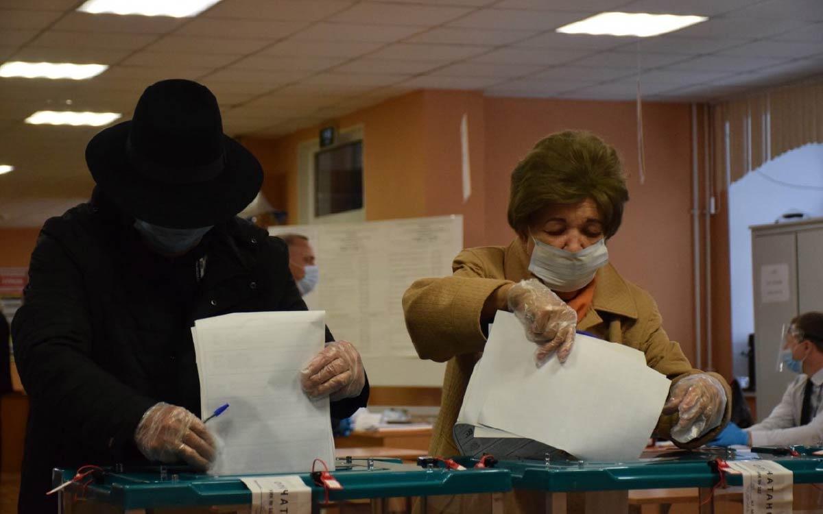 По состоянию на 19 сентября на 17.30 в Югорске проголосовали 14 189 избирателей - 53,68% 4