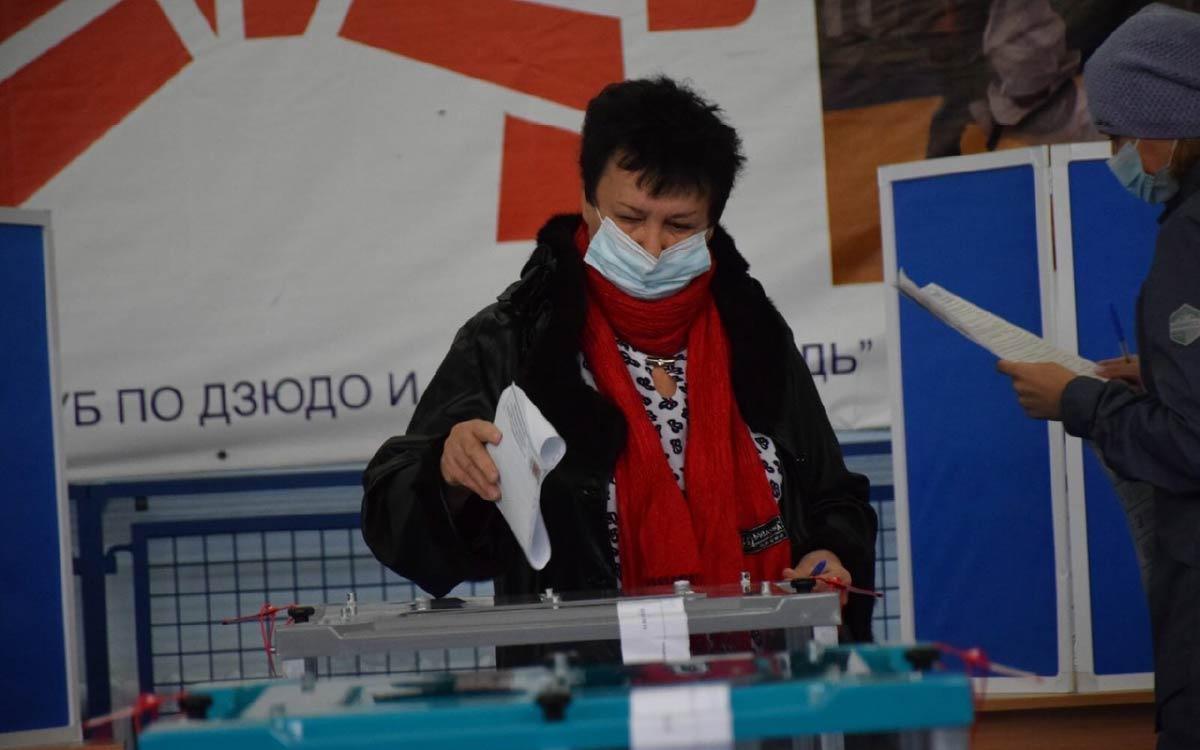 По состоянию на 19 сентября на 17.30 в Югорске проголосовали 14 189 избирателей - 53,68% 3