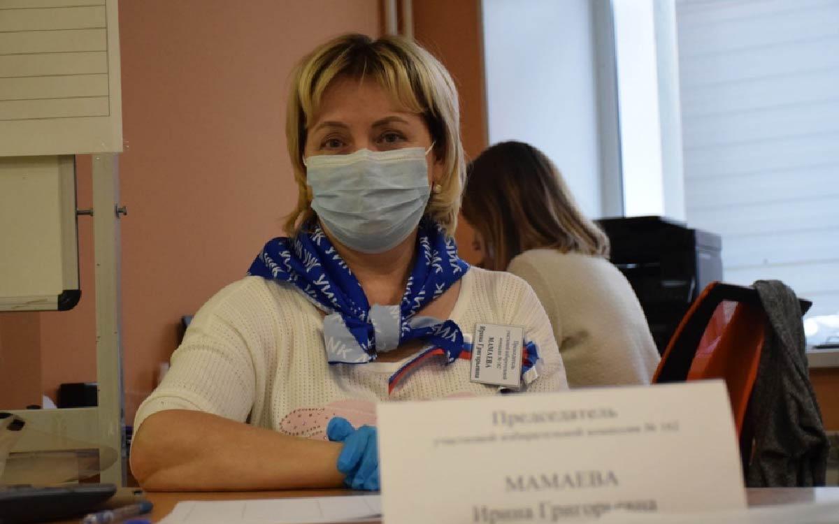 Третий день больших выборов. В Югорске открыто 22 избирательных участка, на которых трудятся 194 членов участковых избирательных комиссий. 8