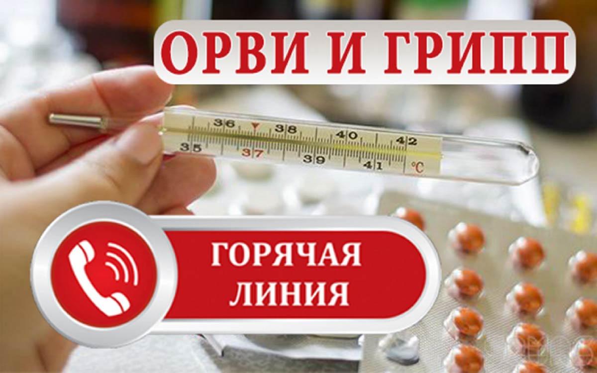 С 4 по 15 октября 2021 в Роспотребнадзора организована работа телефонной «горячей линии» по вопросам профилактики гриппа и ОРВИ, в том числе по вопросам иммунизации против гриппа.