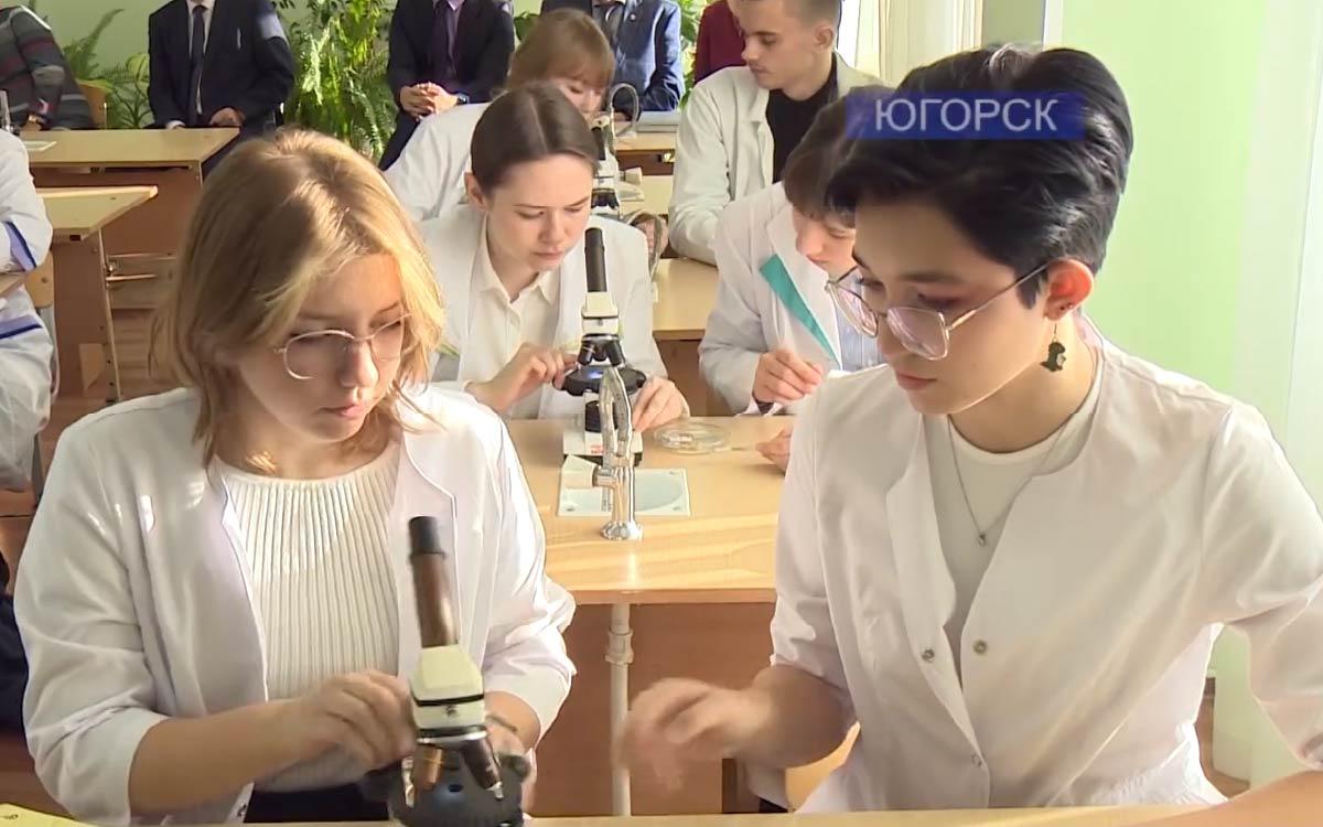 Начиная с 2015 года 97 юношей и девушек в Югорске стали выпускниками медицинского класса