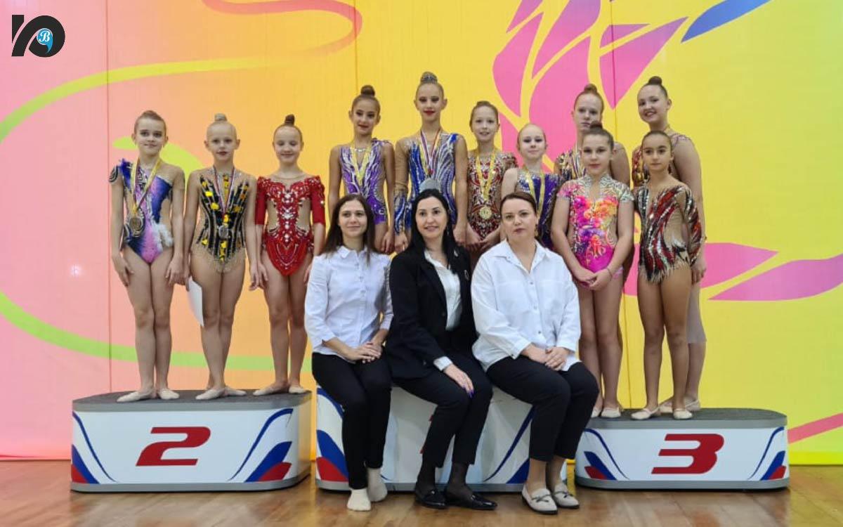 В Югорске состоялись два турнира по художественной гимнастике 2
